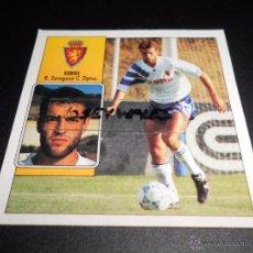 Cromos de Fútbol: VERSION FICHAJE 26 SERGI ZARAGOZA CROMOS ALBUM EDICIONES ESTE LIGA FUTBOL 92 93 1992 1993. Lote 49619163
