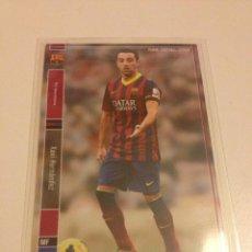 Cromos de Fútbol: CROMO CARD LIGA 2013-14 PANINI DE JAPÓN FC BARCELONA BARÇA XAVI HERNANDEZ (TENGO MÁS MIRA MIS LOTES). Lote 49630141