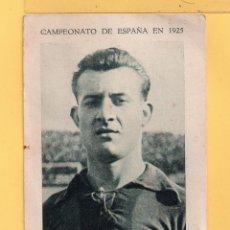Cromos de Fútbol: CROMO DE FUTBOL F. C.BARCELONA JUGADOR CARULLA PUBLICITAR TÓNICA VALENTER DEL AÑO 1925. Lote 49675829