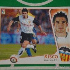 Cromos de Fútbol: CROMO DE FÚTBOL:XISCO DEL VALENCIA C.F.,(SIN PEGAR),LIGA ESTE 2004-2005/04-05. Lote 110499011