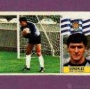Cromos de Fútbol: COLOCA. GONZALEZ - REAL SOCIEDAD. EDICIONES ESTE. 1.986 - 1.987 (86/87) NUNCA PEGADO. Lote 50007432