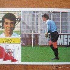 Cromos de Fútbol: CROMO ALBUM LIGA ESTE 82 83 PACO (SEVILLA) - DESPEGADO - 1982 1983. Lote 50022319