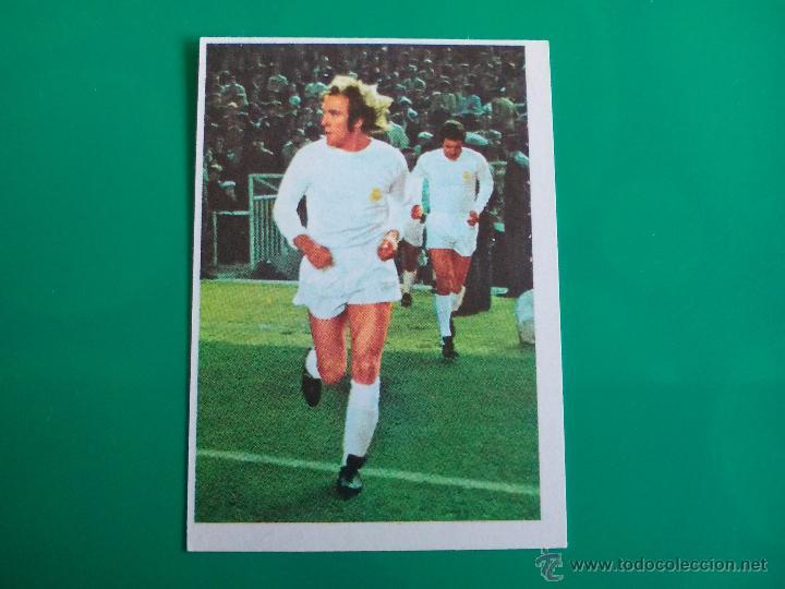 NETZER (REAL MADRID) CROMO EDITORIAL FHER 1975 1976 LIGA 75 76 (Coleccionismo Deportivo - Álbumes y Cromos de Deportes - Cromos de Fútbol)