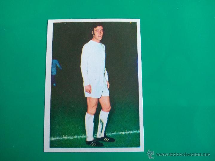 DEL BOSQUE (REAL MADRID) CROMO EDITORIAL FHER 1975 1976 LIGA 75 76 (Coleccionismo Deportivo - Álbumes y Cromos de Deportes - Cromos de Fútbol)