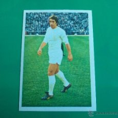 Cromos de Fútbol: VELAZQUEZ (REAL MADRID) CROMO EDITORIAL FHER 1975 1976 LIGA 75 76. Lote 50065605