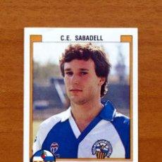 Cromos de Fútbol: SABADELL - 282 VILLARROYA - FÚTBOL 88, PANINI 1987-1988, 87-88 - NUNCA PEGADO. Lote 50068443