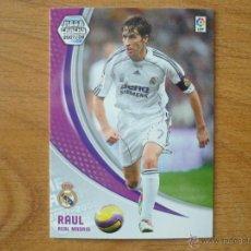 Cromos de Fútbol: MEGACRACKS 2007 2008 PANINI Nº 179 RAUL (REAL MADRID) - FUTBOL CROMO LIGA 07 08. Lote 101554014