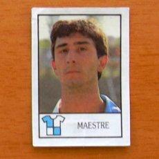 Cromos de Fútbol: SABADELL - 205 MAESTRE - BOLLYCAO LIGA 1987-1988, 87-88. Lote 50198574