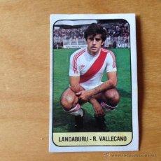 Cromos de Fútbol: EDICIONES ESTE - 1978 1979 - 78 79 - LANDABURU - RAYO VALLECANO. Lote 50263046