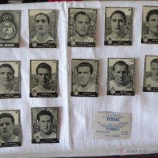 Cromos de Fútbol: CROMOS FÚTBOL PRIMERA DIVISION AÑO 1953. Lote 158448137
