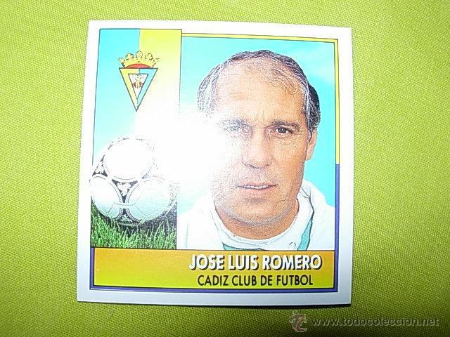 ROMERO CADIZ LIGA ESTE 92/93 COLOCA NUEVO (Coleccionismo Deportivo - Álbumes y Cromos de Deportes - Cromos de Fútbol)