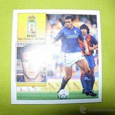 Cromos de Fútbol: BANGO OVIEDO BAJA MUY DIFICIL LIGA ESTE 92/93 NUEVO. Lote 50352627