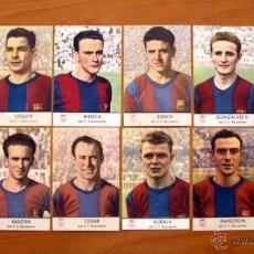 Cromos de Fútbol: FÚTBOL CLUB BARCELONA - CHAMPAÑ CASTELLBLANCH 2ª SERIE COMPLETA - 11 CROMOS. Lote 50370515