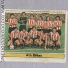Cromos de Fútbol: CROMO DE FUTBOL. EDICIONES ESTE. CAMPEONATO 81 - 82. BILBAO. ALINEACION. Lote 50401404