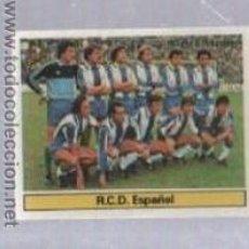 Cromos de Fútbol: CROMO DE FUTBOL. EDICIONES ESTE. CAMPEONATO 81 - 82. ESPAÑOL. ALINEACION. Lote 50401409