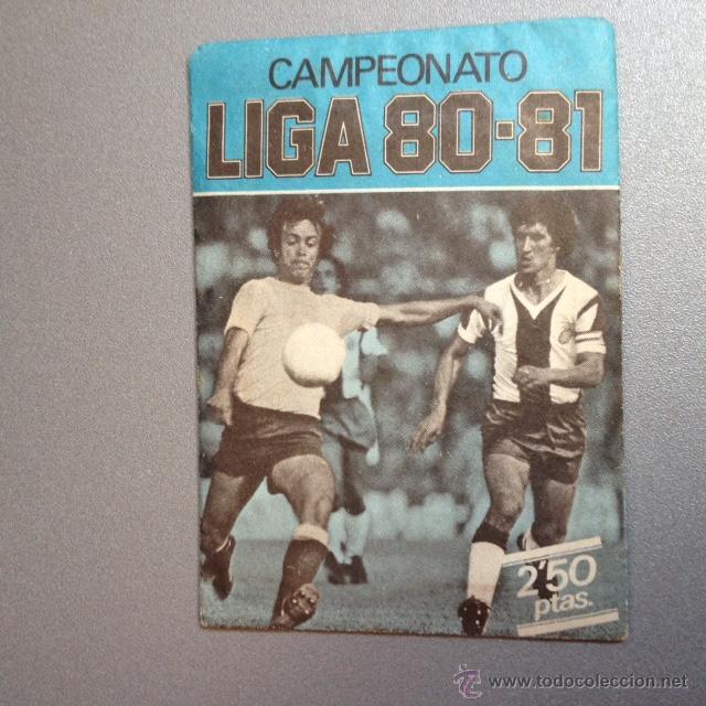 EDICIONES ESTE 1980 1981 - 80 81 - SOBRE SIN ABRIR- VERSION AZUL (Coleccionismo Deportivo - Álbumes y Cromos de Deportes - Cromos de Fútbol)