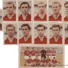 Cromos de Fútbol: SELECCION DE RUSIA COMPLETO,OLIMPIADA DE TOKIO 1964, DEL ALBUM RUIZ ROMERO 1965,. Lote 50453415