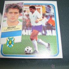 Cromos de Fútbol: CROMO COLOCA REVERT 89 90 1989 1990 TENERIFE DIFÍCIL LIGA 89 90 EDICIONES ESTE .. Lote 50499032