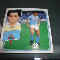 Cromos de Fútbol: CROMO CANTERO 89 90 CELTA VIGO 1989 1990 LIGA 89 90 EDICIONES ESTE .. Lote 50550629