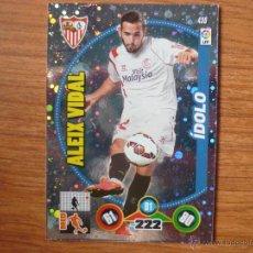 Cromos de Fútbol: ADRENALYN XL 2014 2015 PANINI Nº 430 ALEIX VIDAL (SEVILLA) IDOLO - CROMO LIGA 14 15. Lote 194621120