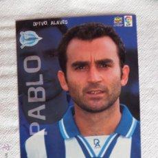 Cromos de Fútbol: TOP LIGA 99 PABLO. Lote 50653249