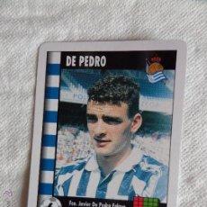 Cromos de Fútbol: SUPERGOL MARCA DE PEDRO. Lote 50658633