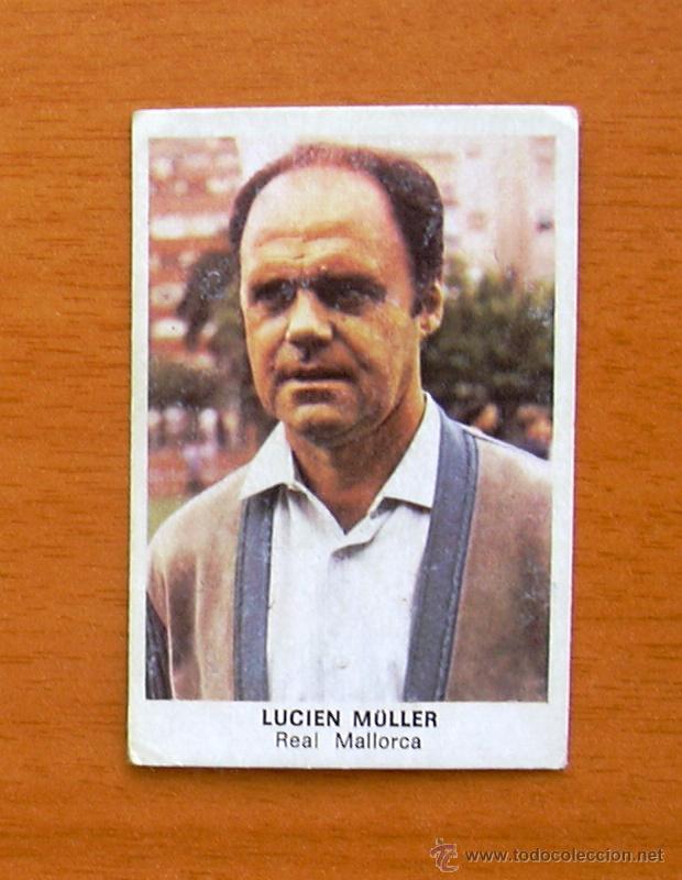 MALLORCA - LUCIEN MULLER - CROMOS CANO 1983-1984, 83-84 (Coleccionismo Deportivo - Álbumes y Cromos de Deportes - Cromos de Fútbol)