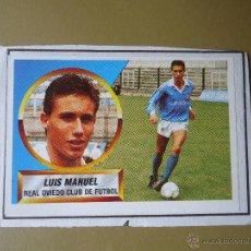 Cromos de Fútbol: ESTE 88 89 1988 1989 LUIS MANUEL OVIEDO RECORTADO. Lote 50712449
