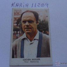Cromos de Fútbol: CROMO CANO FUTBOL 84 CROPAN LUCIEN MULLER MALLORCA. Lote 50773453