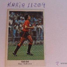 Cromos de Fútbol: CROMO CANO FUTBOL 84 CROPAN SABIDO MALLORCA. Lote 50782137