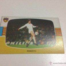 Figurine di Calcio: CROMO LIGA 84-85 CROMOS CANO VALENCIA ROBERTO ,TENGO MÁS MIRA MIS LOTES. Lote 50851502