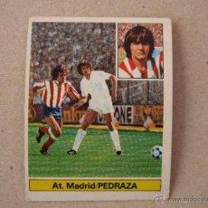 Cromos de Fútbol: ESTE 81-82 BAJA PEDRAZA ATLETICO MADRID 1981-1982 NUNCA PEGADO. Lote 50864531