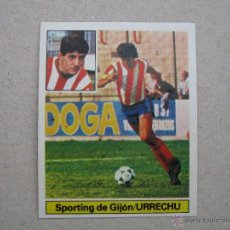 Cromos de Fútbol: ESTE 81-82 VERSION FICHAJE Nº 11 URRECHU SPORTING GIJON 1981-1982 NUEVO. Lote 50915817