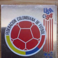 Cromos de Fútbol: CROMO PANINI MUNDIAL USA 94 - ESCUDO - COLOMBIA- 58 - SIN PEGAR. Lote 178816566