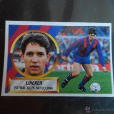 Cromos de Fútbol: LINEKER DEL BARCELONA ALBUM ESTE LIGA 1988 - 1989 ( 88 - 89 ). Lote 198692757