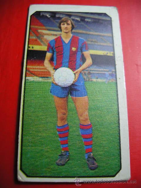 CROMO DE FUTBOL LIGA 77 / 78, ED. ESTE, BARCELONA, CRUYFF, 1977 1978 ERCOM (Coleccionismo Deportivo - Álbumes y Cromos de Deportes - Cromos de Fútbol)