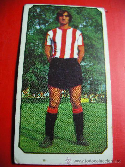CROMO DE FUTBOL LIGA 77 / 78, ED. ESTE, ATLETHIC DE BILBAO, GARAY, 1977 1978 ERCOM (Coleccionismo Deportivo - Álbumes y Cromos de Deportes - Cromos de Fútbol)