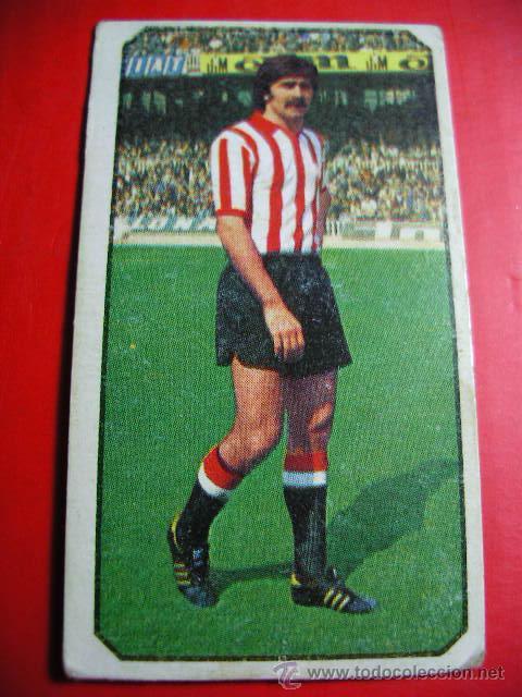 CROMO DE FUTBOL LIGA 77 / 78, ED. ESTE, ATLETHIC DE BILBAO, ASTRAIN, 1977 1978 ERCOM (Coleccionismo Deportivo - Álbumes y Cromos de Deportes - Cromos de Fútbol)
