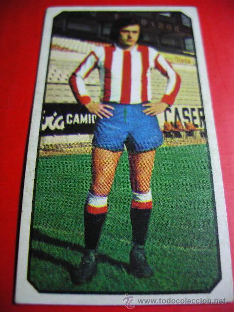 CROMO DE FUTBOL LIGA 77 / 78, ED. ESTE, GIJON, MORAN, 1977 1978 ERCOM (Coleccionismo Deportivo - Álbumes y Cromos de Deportes - Cromos de Fútbol)