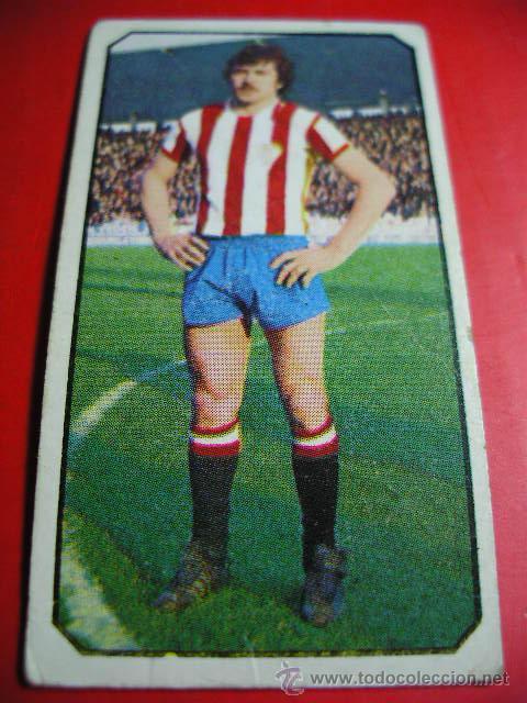 CROMO DE FUTBOL LIGA 77 / 78, ED. ESTE, GIJON, FERRERO, 1977 1978 ERCOM (Coleccionismo Deportivo - Álbumes y Cromos de Deportes - Cromos de Fútbol)
