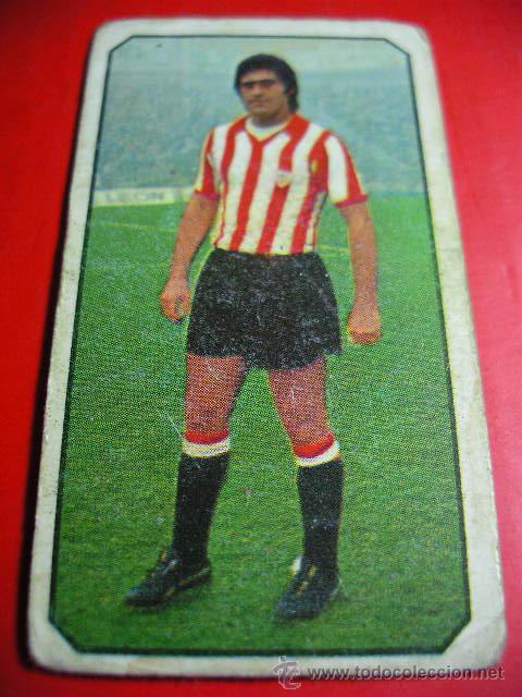 CROMO DE FUTBOL LIGA 77 / 78, ED. ESTE, ATLETHIC DE BILBAO, GUISASOLA, 1977 1978 ERCOM (Coleccionismo Deportivo - Álbumes y Cromos de Deportes - Cromos de Fútbol)