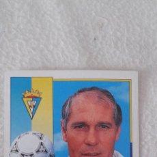 Cromos de Fútbol: 92-93 ESTE. NUNCA PEGADO JOSE LUIS ROMERO CADIZ. Lote 51371062