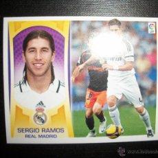 Cromos de Fútbol: SERGIO RAMOS DEL REAL MADRID ALBUM ESTE LIGA 2009 - 2010 ( 09 - 10 ). Lote 221906015