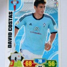 Cromos de Fútbol: CROMO ALBUM FUTBOL ADRENALYN TRADING CARD GAME PANINI LIGA 2013 - 2014 - Nº 103 DAVID COSTA. Lote 51375521
