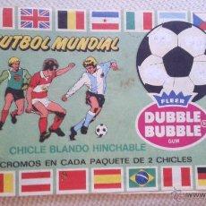 Cromos de Fútbol: CROMO CROMOS ALBUM FUTBOL MUNDIAL 82 CHICLES BUBBLE DUBBLE. LEER. Lote 51393577