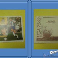 Cromos de Fútbol: GALYAMIN. ESPAÑOL. SIN PEGAR. EDICIONES ESTE LIGA 92/93. Lote 51406308