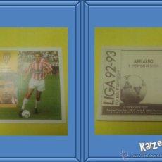 Cromos de Fútbol: ABELARDO. GIJON. SIN PEGAR. EDICIONES ESTE LIGA 92/93. Lote 51406530