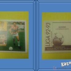 Cromos de Fútbol: ALCAZAR. GIJON. SIN PEGAR. EDICIONES ESTE LIGA 92/93. Lote 51406557