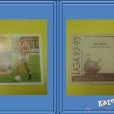 Cromos de Fútbol: IORDANOV. GIJON. SIN PEGAR. EDICIONES ESTE LIGA 92/93. Lote 51406587