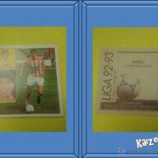 Cromos de Fútbol: MUÑIZ. GIJON. SIN PEGAR. EDICIONES ESTE LIGA 92/93. Lote 51406637